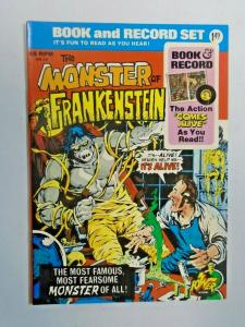 Monster of Frankenstein Book and Record Set #0 with record 6.0 FN (1974)