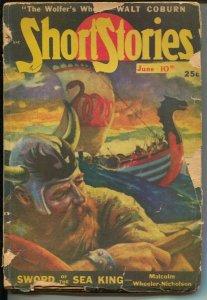 Short Stories 6/10/1948-Johnny Fletcher mystery-Frank Gruber-Wittmack-G/VG