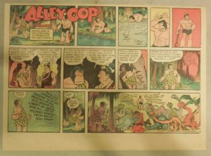 Alley Oop Sunday by VT Hamlin from 3/8/1953 Half Page Size
