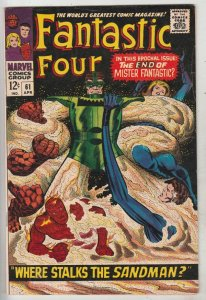 Fantastic Four #61 (Apr-67) VF/NM High-Grade Fantastic Four, Mr. Fantastic (R...