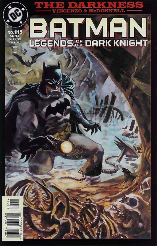 Batman: Legends of the Dark Knight #115 VF/NM; DC | save on shipping - details i