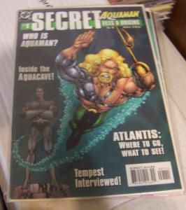 Aquaman Secret Files and Origins #1 (Dec 1998, DC) atlantis aquacave