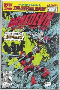 Daredevil   vol. 1  Annual # 8 VF (System Bytes 2)