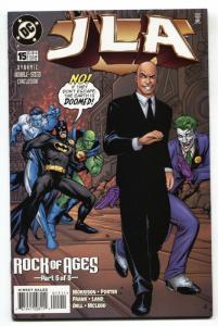 JLA #15-First Mageddon New Gods-Joker cover-DC