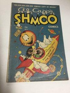 Shmoo Comics 3 Vg Very Good 4.0 Toby Press Golden Age