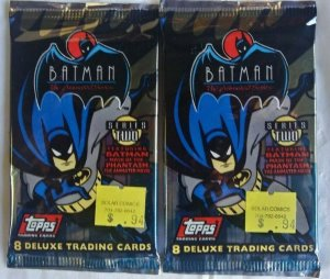 1993 Topps Batman Animated Series 2 Sealed Pack
