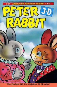 Peter Rabbit 3-D #1 VF; Eternity | save on shipping - details inside