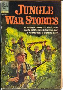 Jungle War Stories #01-384-209 1962-Dell-1st issue-Vietnam War-Viet Cong-G-