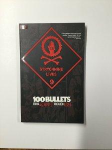 100 Bullets Strychnine Lives Volume 9 Tpb Nm Near Mint Vertigo