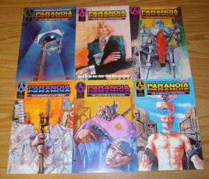 Paranoia #1-6 VF/NM complete series based on RPG - the computer is your friend