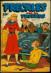 Freckles and His Friends #9 1949- LP Teen humor G/VG