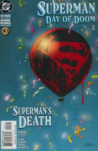 Superman: Day of Doom #2 VF/NM; DC   save on shipping - details inside