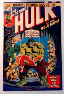 Incredible Hulk #189 Marvel 1975 VG+ Bronze Age Comic Book 1st Print