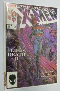 Uncanny X-Men #198 Direct 1st Series 8.0 VF (1985)