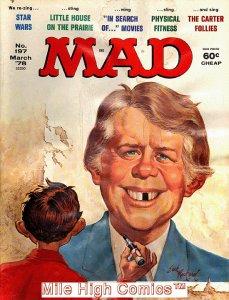 MAD (MAGAZINE) #197 Fine