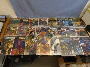Batman Shadow Of The Bat (DC Comics 1992) LOT 32 Books Nice Issue Runs L@@K