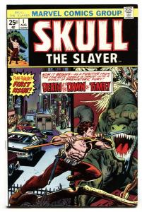 SKULL THE SLAYER #1-First issue comic book-Marvel-VF/NM