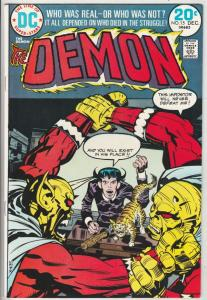 Demon, The #15 (Dec-73)  High-Grade Jason Blood, Merlin
