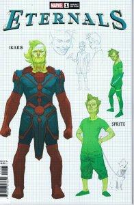 Eternals #1 2021 Marvel Comics Ribic Variant Cover Ikaris Sprite