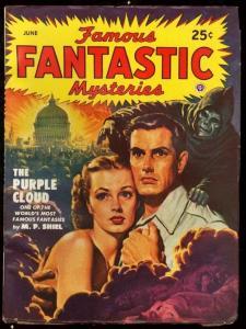 FAMOUS FANTASTIC MYSTERIES 1949 JUN-OCCULT-SCI FI PULP FN/VF