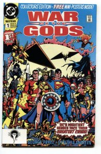 War of the Gods #1 - 1991 1st full CIRCE-Includes posters - VF/NM
