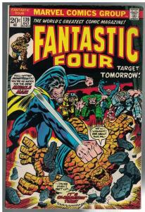 FANTASTIC FOUR 139 FINE Oct. 1973