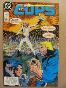 COPS #3, VF/NM, Law, Bad Guys, DC, 1988, more in store