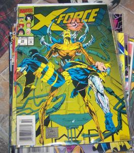 X FORCE # 39  MARVEL CABLE boom boom warpath domino