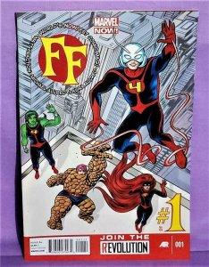 Marvel Now Matt Fraction FF #1 Mike Allred (Marvel, 2013)!