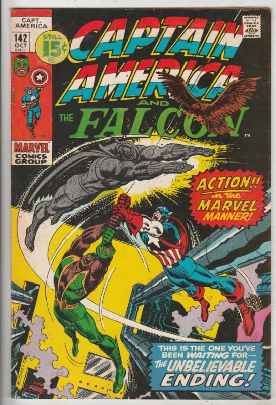 Captain America #142 (Oct-71) FN+ Mid-High-Grade Captain America