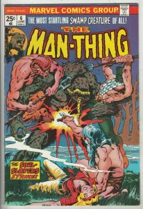 Man-Thing #6 (Jun-74) NM- High-Grade Man-Thing