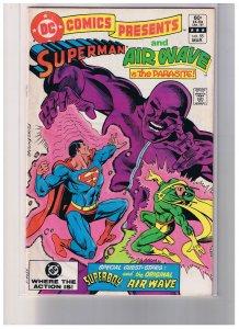 DC Comics Presents # 55 Fine Very Fine +