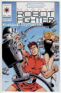 MAGNUS, ROBOT FIGHTER #1 (Vintage), Valiant, NM+, more indies in store