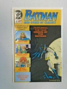Batman and Other DC Classics #1 8.0 VF (1989)