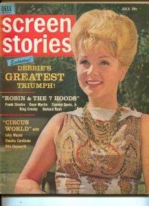 Screen Stories-Debbie Reynolds-Elvis-Ann-Margret-July-1964