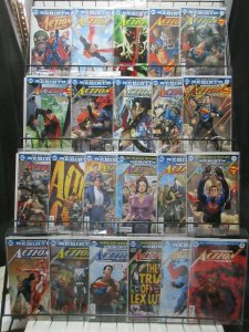 Superman in Action Comics (DC Rebirth 2016-7) Lot of 22Diff from 957-988 Jurgens
