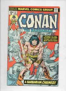 CONAN the BARBARIAN #57 FN/VF, Buscema, Howard, 1970 1975, Mike Ploog