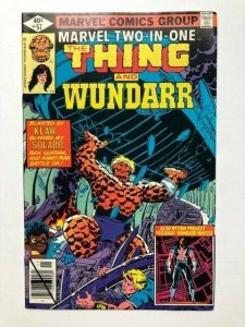 MARVEL Two in one THE THING and WUNDARR #57 direct edition FINE/VERY FINE (A287)