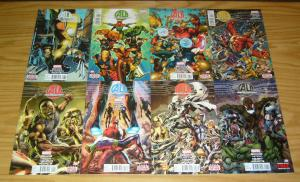 Age of Ultron #1-10 VF/NM complete series + 10AI - brian bendis avengers set