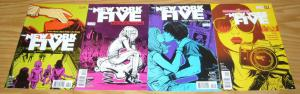 New York Five #1-4 VF/NM complete series BRIAN WOOD vertigo comics college 2011