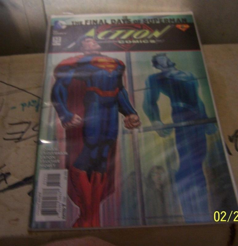 ACTION COMICS # 52 JULY 2016 THE FINAL DAYS OF SUPERMAN PT 6