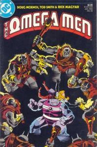 Omega Men (1982 series) #22, NM- (Stock photo)