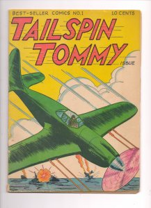 Best Seller Comics #1 featuring Tailspin Tommy (1946) VG/F