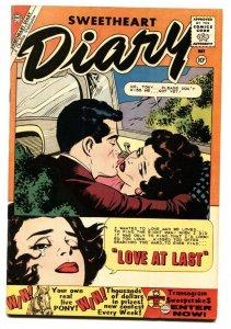 Sweetheart Diary #52 1960- Silver Age Charlton Romance-Great art!