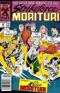 Strikeforce: Morituri #28 FN; Marvel   save on shipping - details inside