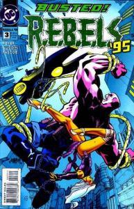 R.E.B.E.L.S. (1994 series) #3, NM + (Stock photo)