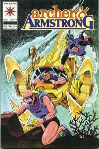 Archer & Armstrong (1992 series) #17, NM (Stock photo)