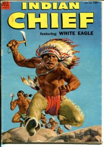 Indian Chief #14 1954-Dell-excellent Indian imagery-White Eagle-VG-