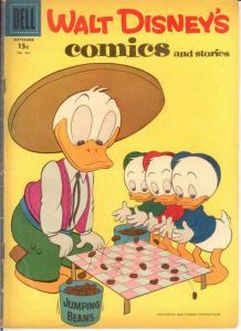 WALT DISNEYS COMICS & STORIES 204 VG BARKS COMICS BOOK
