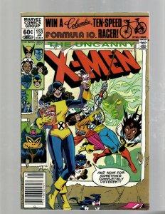 (Uncanny) X-Men # 153 VF Marvel Comic Book Beast Angel Cyclops Magneto SM19